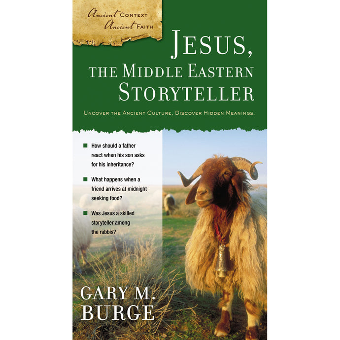 Jesus / Middle Eastern Storyteller(Ancient Context Ancient (Paperback)