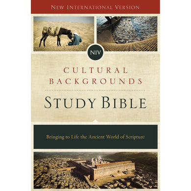 NIV Cultural Backgrounds Study Bible (Hardcover)