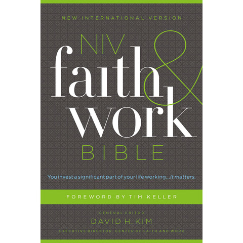Load image into Gallery viewer, NIV Faith And Work Bible (Hardcover)