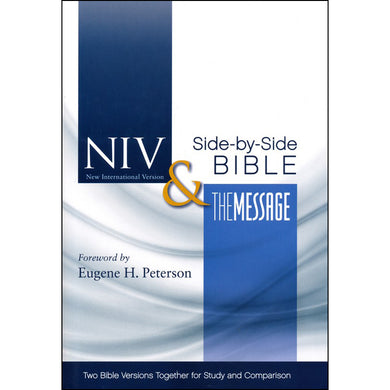 NIV / Message Parallel Bible (Hardcover)