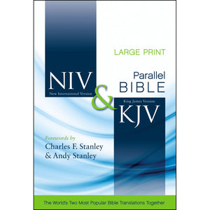NIV / KJV Parallel Bible Large Print (Hardcover)