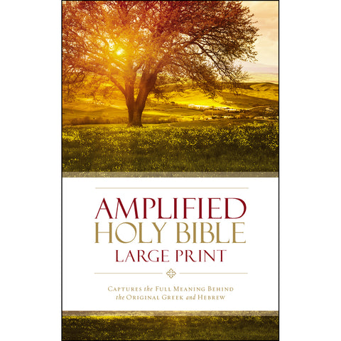 Amplified Holy Bible Large Print (Hardcover)