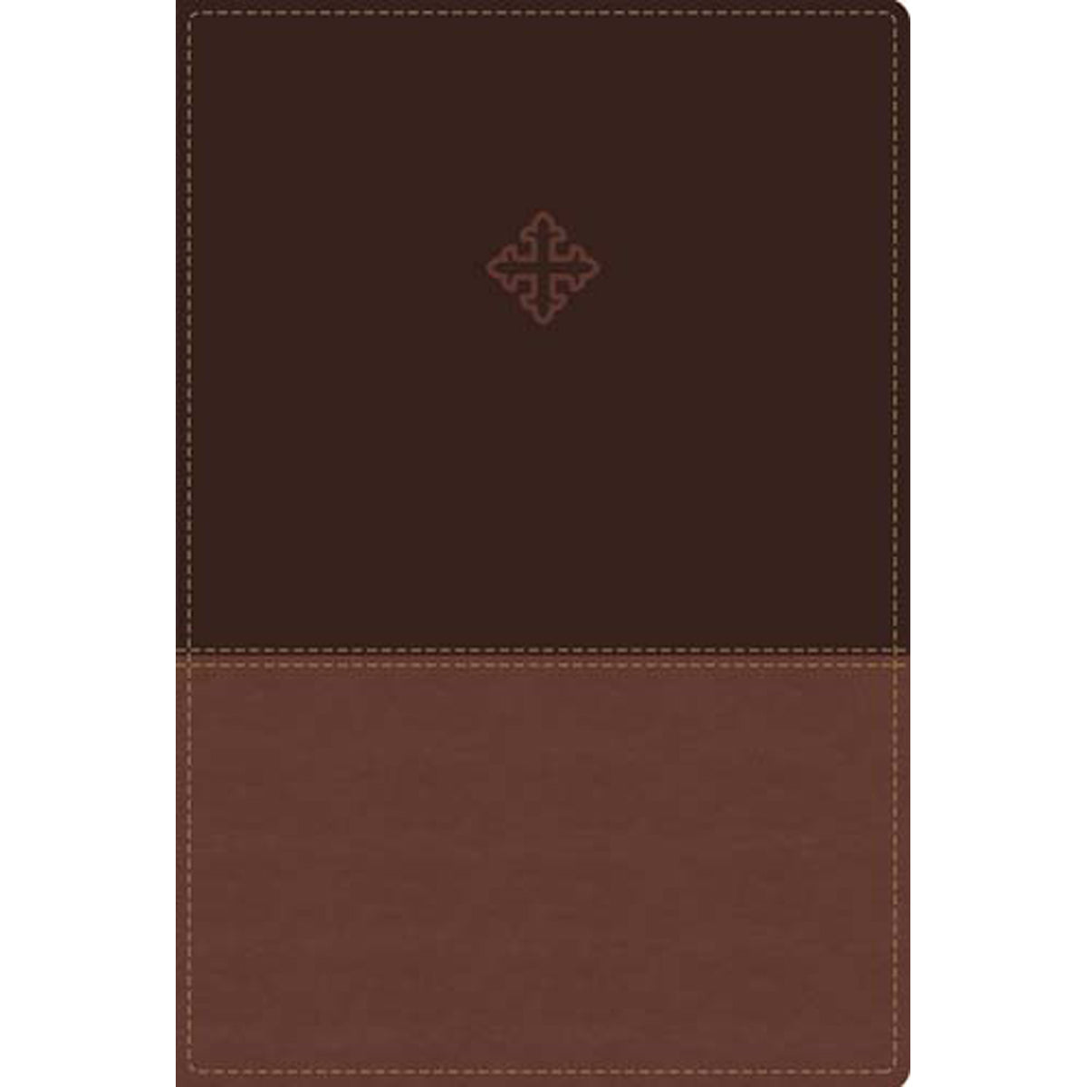 Amplified Study Bible Indexed Brown (Imitation Leather)