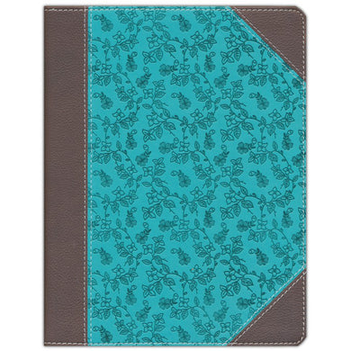 NIV Journal The Word Bible Brown / Blue (Imitation Leather)