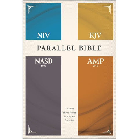 NIV / KJV / NASB / Amplified Parallel Bible (Hardcover)