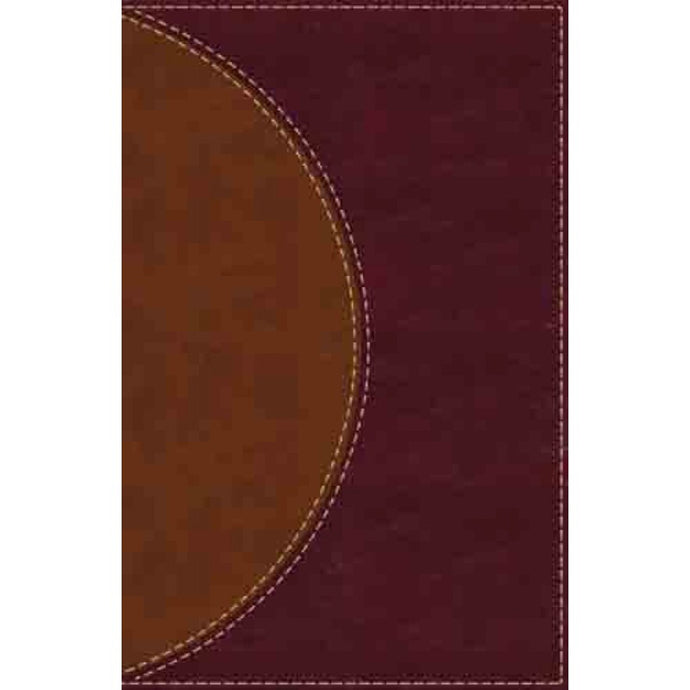 Amplified Reading Bible Brown (Imitation Leather)