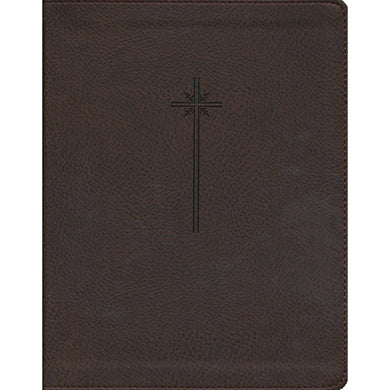 NIV Journal Word Bible Red Letter Brown (Comfort Print)(Imitation Leather)
