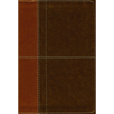 NIV LASB 3rd Edition P / Size Indexed Red Letter Brown (Imitation Leather)