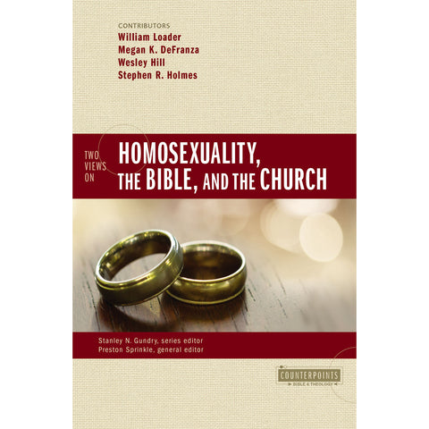 Two Views On Homosexuality The Bible And The Church (Counterpoints)(Paperback)