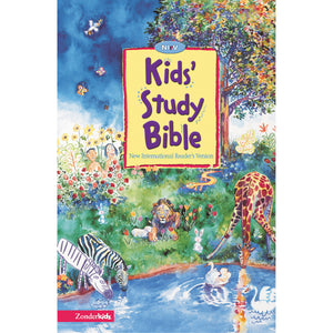 NIRV Kids Study Bible Revised (Hardcover)