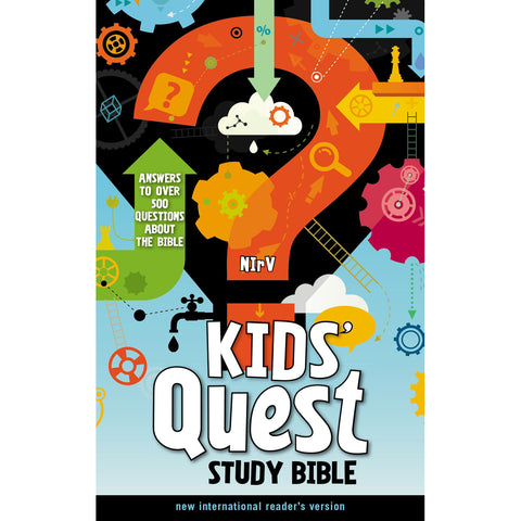 NIRV Kids Quest Study Bible (Hardcover)