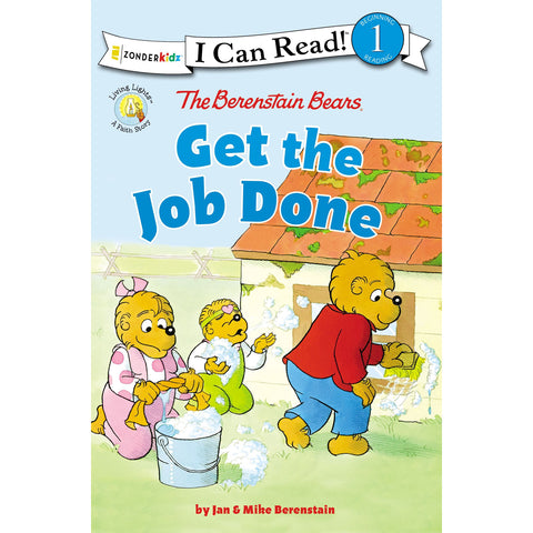 Load image into Gallery viewer, Get The Job Done (Berenstain Bears)(Paperback)