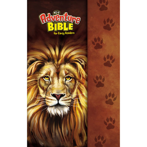 Load image into Gallery viewer, NIRV Adventure Bible For Early Readers Lion (Hardcover)