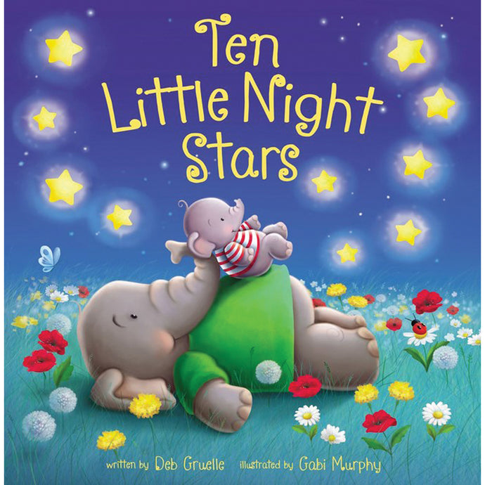 Ten Little Night Stars (Board Book)