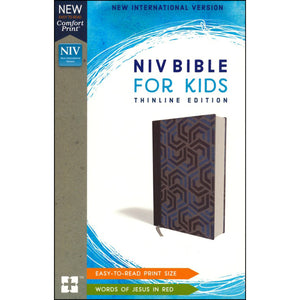 NIV For Kids Red Letter Blue (Comfort Print)(Hardcover)