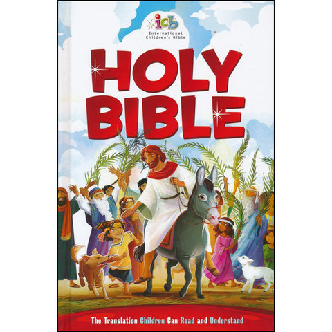 ICB International Children's Bible Red (Hardcover)
