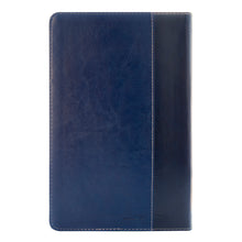 Load image into Gallery viewer, NKJV Deluxe Gift Bible Red Letter Blue (Comfort Print)(Imitation Leather)