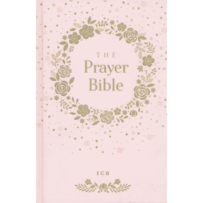 ICB Prayer Bible for Children Pink (Hardcover)