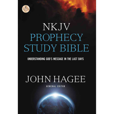 NKJV Hagee Prophecy Study Bible (Hardcover)