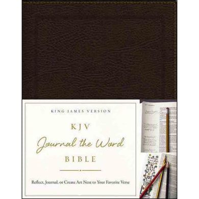 KJV Journal The Word Bible Red Letter Edition Brown (Bonded Leather)