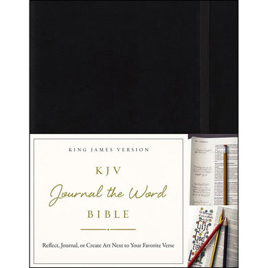 KJV Journal The Word Bible Red Letter Edition (Hardcover)