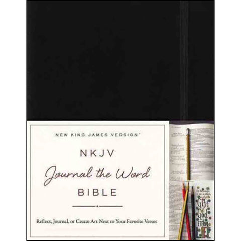 NKJV Journal The Word Bible Red Letter Edition (Hardcover)