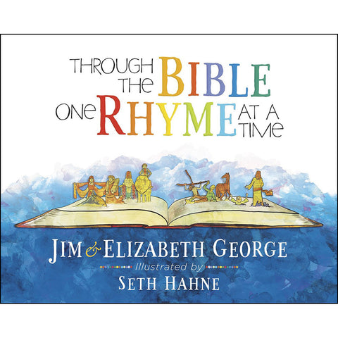 Load image into Gallery viewer, Through The Bible One Rhyme At A Time (Hardcover)