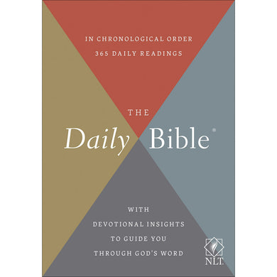NLT The Daily Bible (Paperback)