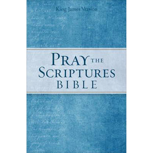KJV Pray The Scriptures Bible (Hardcover)