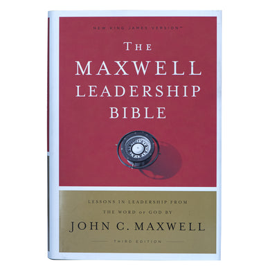 NKJV Maxwell Leadership Bible 3rd Edition (Comfort Print)(Hardcover)