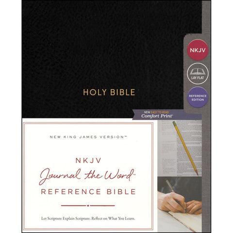 NKJV Journal The Word Ref Bible Red Letter Black (Comfort Print)(Hardcover)