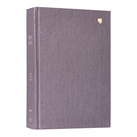 NET Bible Full-Notes Edition Cloth Over Board Gray (Comfort Print)(Hardcover)
