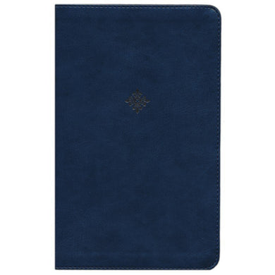NKJV Thinline Bible Red Letter Edition Navy (Comfort Print)(Imitation Leather)