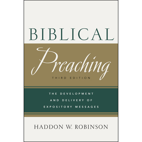 Load image into Gallery viewer, Biblical Preaching, Third Edition (Hardcover)