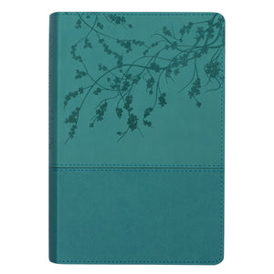 NKJV Woman After God's Own Heart Bible Turquoise (Imitation Leather)
