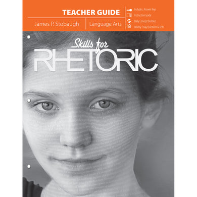 Skills For Rhetoric Teacher Guide (Paperback)