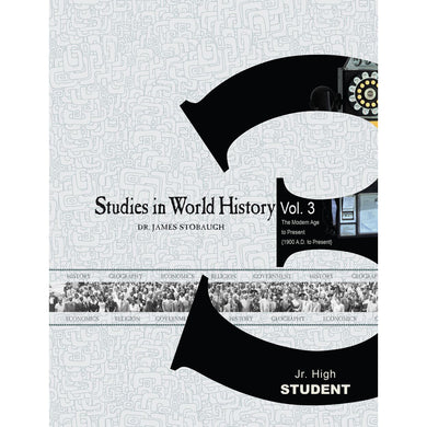 Studies In World History Volume 3 Student (Paperback)