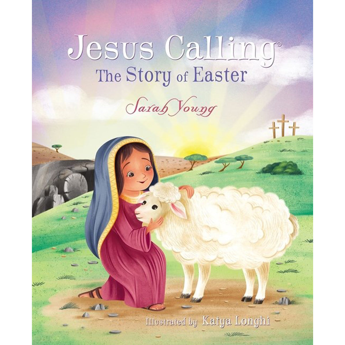 Jesus Calling: The Story Of Easter (Jesus Calling)(Board Book)