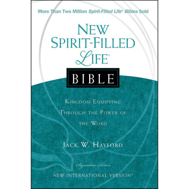 NIV New Spirit Filled Life Bible (Hardcover)