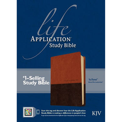 KJV LASB Second Edition Brown / Tan Red Letter  Indexed (Imitation Leather)