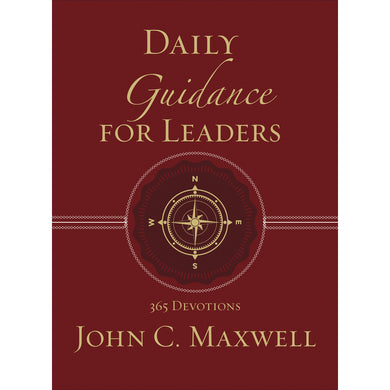 Daily Guidance For Leaders (Faux Leather)
