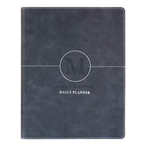 John C. Maxwell Daily Planner 2021 Executive (Imitation Leather)
