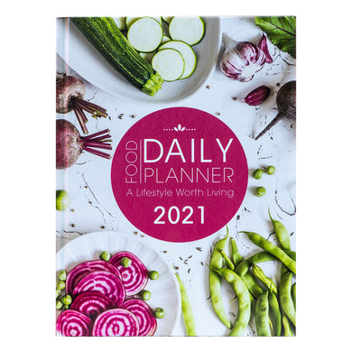 Food Daily Planner 2021 (Hardcover)