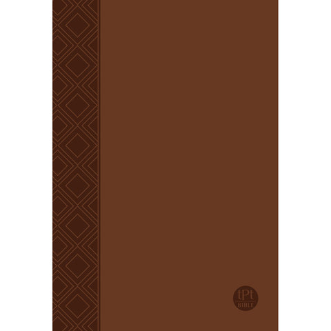 TPT The Passion Translation New Testament 2nd Edition Brown (Imitation Leather)