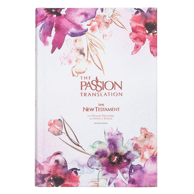 TPT The Passion Translation New Testament 2nd Edition Plum (Hardcover)