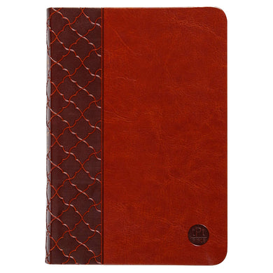TPT The Passion Translation New Testament Compact Brown (Imitation Leather)
