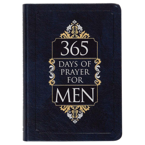 365 Days Of Prayer For Men (Imitation Leather)