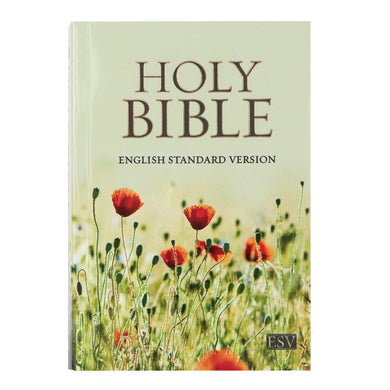 ESV Compact Bible Poppies (Paperback)