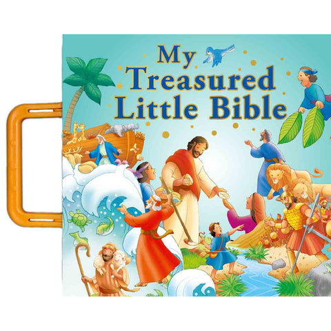 Load image into Gallery viewer, My Treasured Little Bible (Board Book)