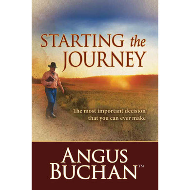 Starting The Journey (Paperback)